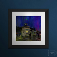 Winter's Night, Battlefield Rest - large framed