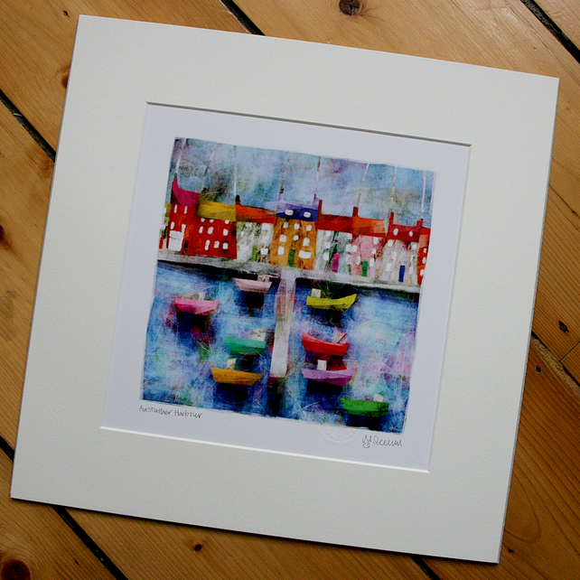 Anstruther Harbour. Size 2