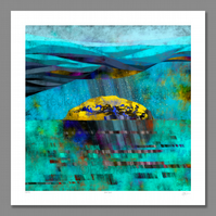 West Rock. Large Giclee print