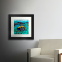 West Rock (Ailsa Craig). Large framed