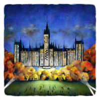 The University of Glasgow, and Beyond! - large giclee print