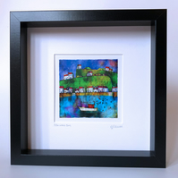 Pittenweem Bay. Framed.