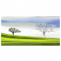 Life in Nature Three. Large Giclee print