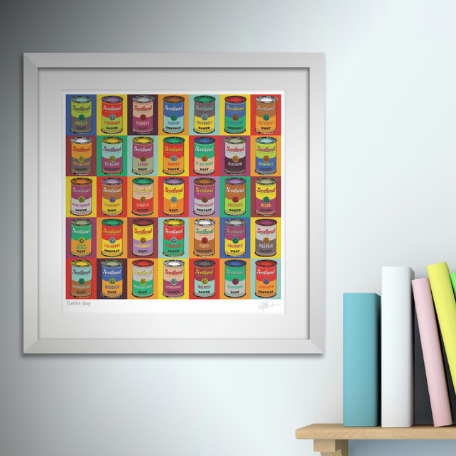 Scottish Soup. Framed.