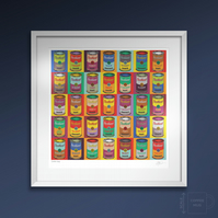 Scottish Soup. Large framed.