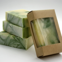 Cedarwood and Lemon Natural Soap