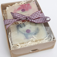 Natural Soap Gift Box Set of 2