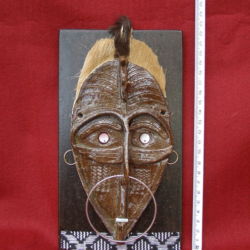 tribal elder mask