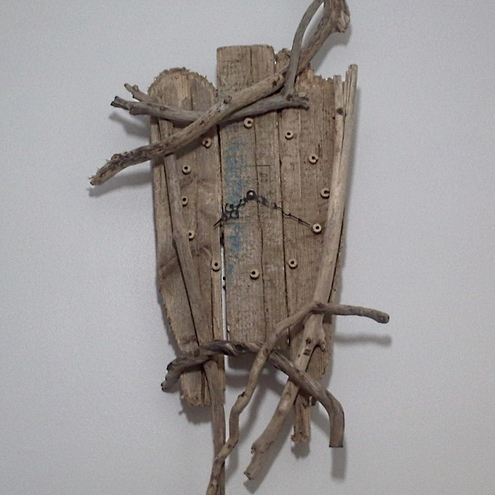 Driftwood Clock Large Unique Wall Sculpture Dr Folksy