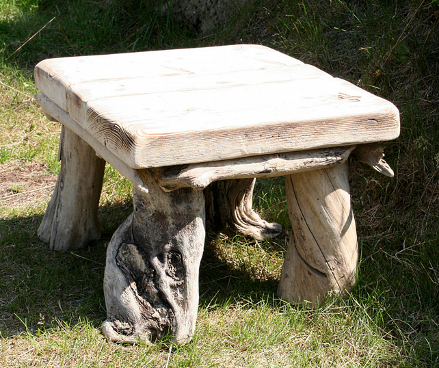 Driftwood Coffee Table, Drift Wood Side Table, ...