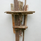 Driftwood shelf,Drift Wood shelves,Driftwood Wall Art,nautical boat Sculpture,