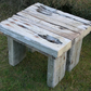 Driftwood Coffee End Table,Drift Wood Coffee End Table,Chunky wood CoffeeTable