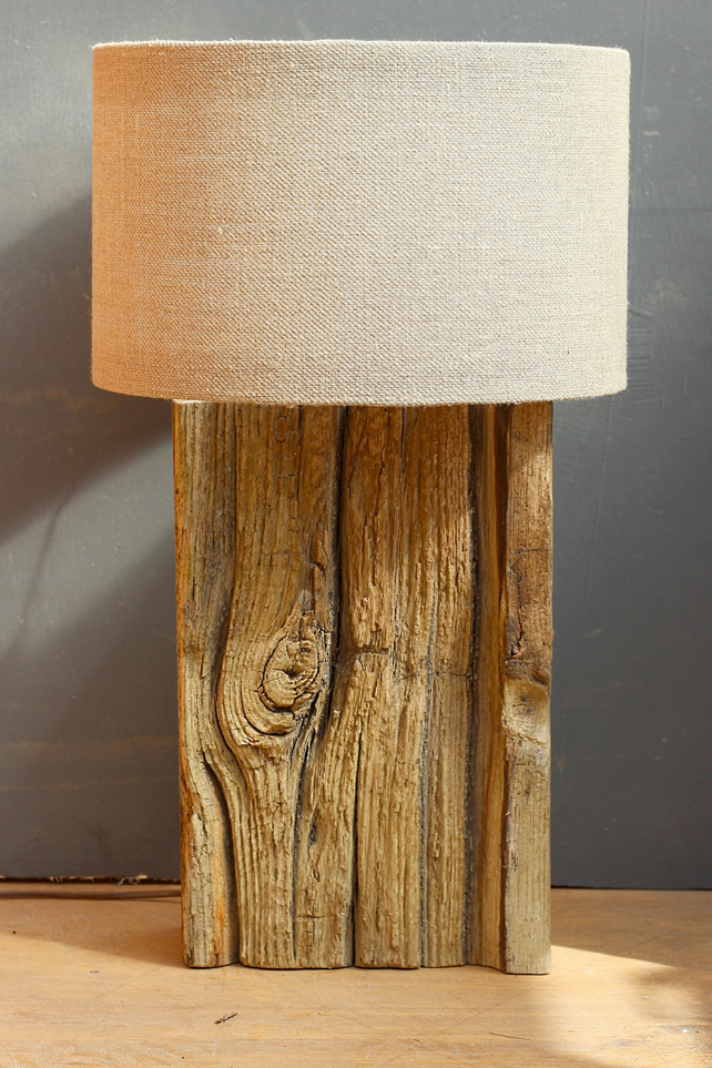 Driftwood Lamp,Rustic Dock wood Lamp,Drift Wood Lamp,Table Lamp 3