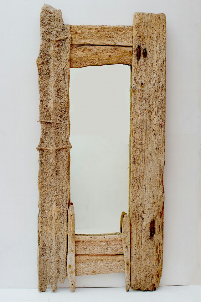 Full length Driftwood Mirror,Floorstanding Mirror, Drift Wood dressing Mirror UK