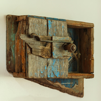Driftwood Cupboard Bathroom Cabinet,Drift wood ,Nautical Bathroom