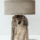 Driftwood Lamp,Rustic trunk wood Lamp,Drift Wood Lamp,Table Lamp