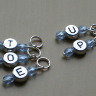 Toe Up Sock Knitting Stitch Markers
