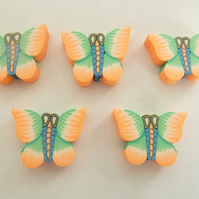 HALF PRICE large butterfly beads