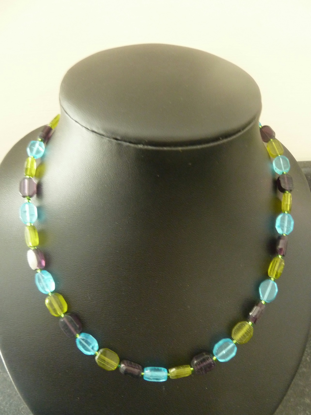SALE gems necklace