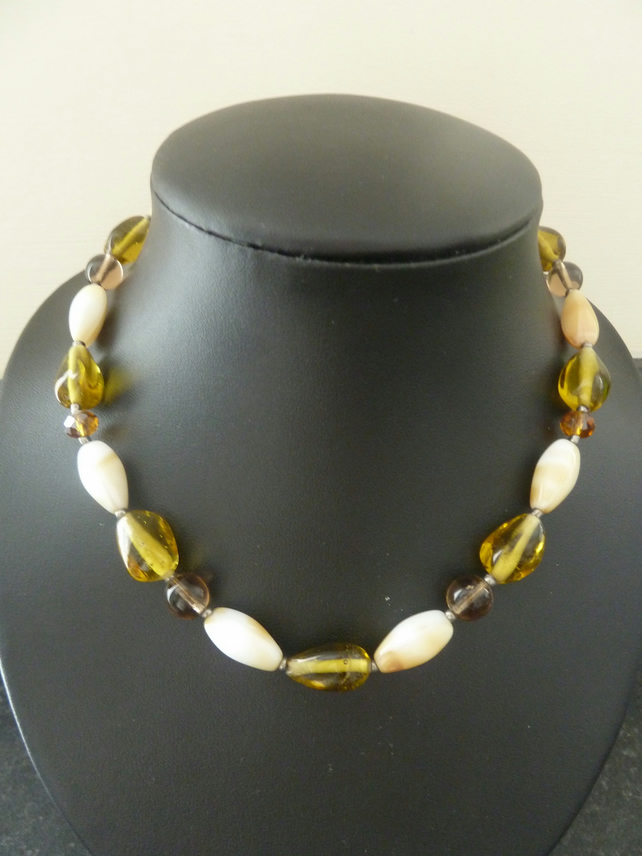 SALE honey necklace