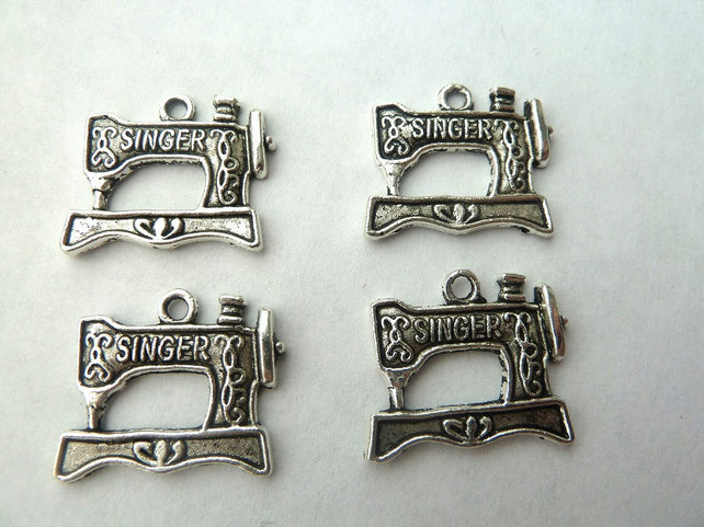 SALE 4 sewing machine charms