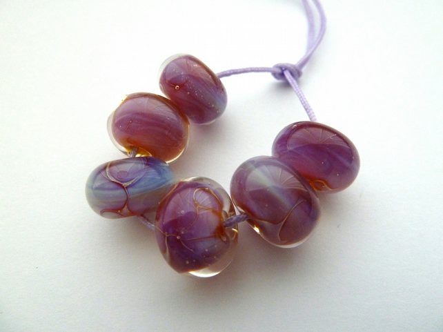 kalypso lampwork glass beads
