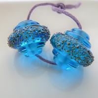 blue stardust ornate pair
