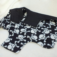 Skulls Theme Dog Coat for Small Dog
