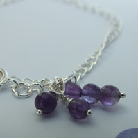 Anklet Amethyst Ankle Jewellery