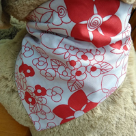 Small dog Bandana Snap Fasteners