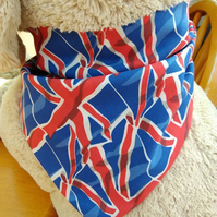 Dog Bandana Small to Medium Union Jack