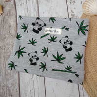 Small to medium Dog Snood Panda Design