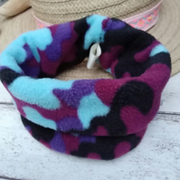 Dog Snood Blue Small to medium
