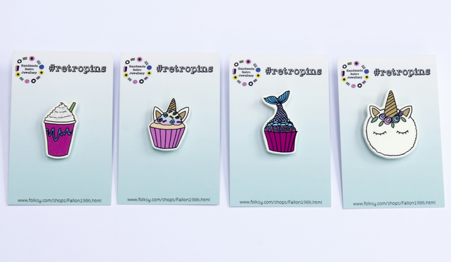 Retropins - Mystical and Magical collection - CHOOSE YOUR FAVOURITE