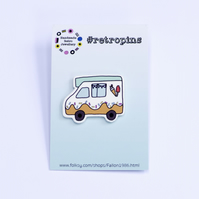 Retropins - Ice cream Van pin