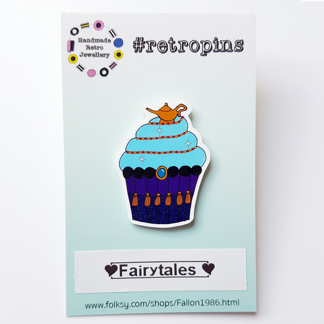 Fairytales cupcake pin collection,