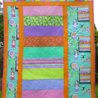 Patchwork Quilt - Princess and Pea