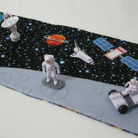 Space Travel Play Mat - Moon Landing Play On The Go Play Scene