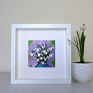 Snowdrops Painting, Spring Flowers Artwork, Mothers Day Gift