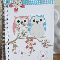 A6 Owl Notebook