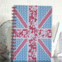 A6 Union Jack Notebook
