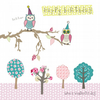 Little Party Owls