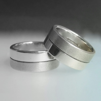 Wedding bands by Nicholas Guy Contemporary Jewellery