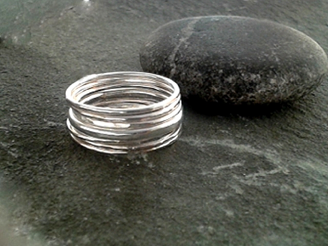 Seven stacking rings