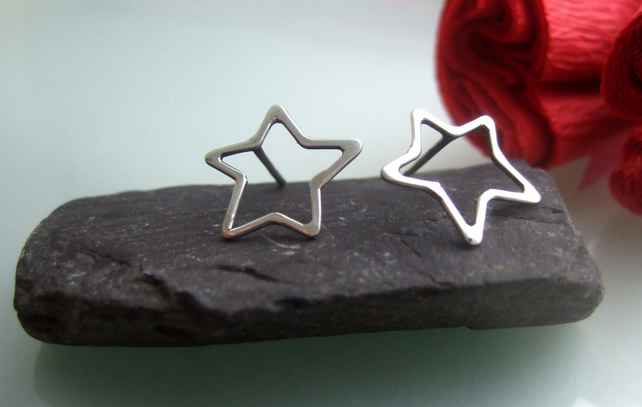 Star celebration stud earrings