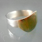 ARC Jewellery Silver gold arc ring
