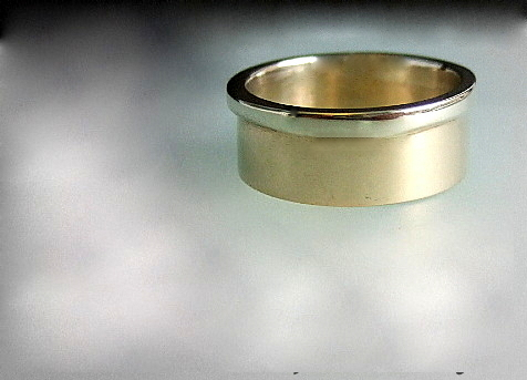 Yellow White gold  ring