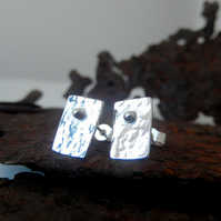 Stud, silver stud earrings