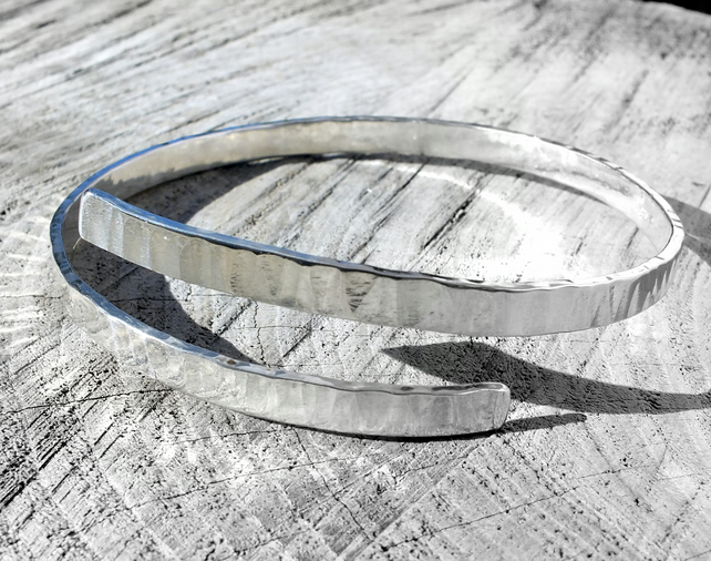 Free Personalisation Silver bangle