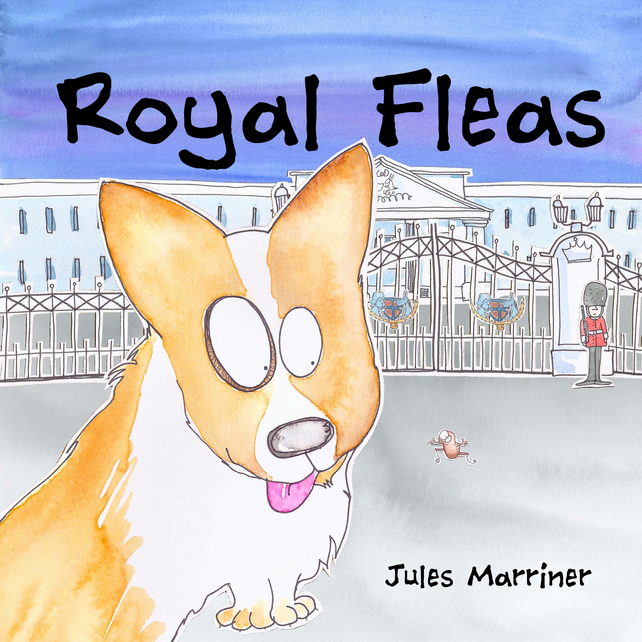 Picture Book 32pages ROYAL FLEAS age 3-8yr